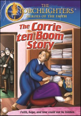 Corrie ten Boom Torchlighters Heroes of the Faith DVD