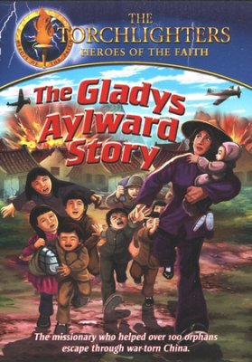 Gladys Aylward Torchlighters Heroes of the Faith DVD