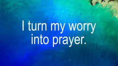 Don't worry trust Jesus