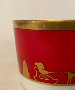 Christian Dior Joyeux Noel Porcelain cup & saucer set