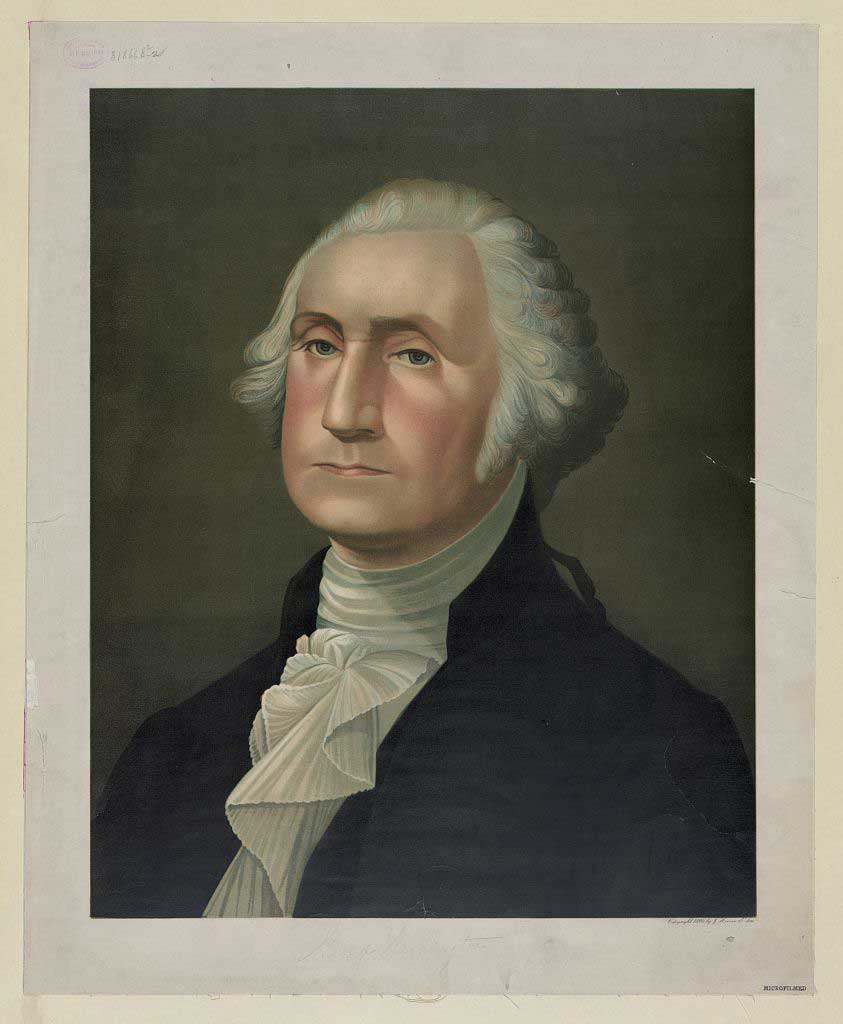 George Washington reason behind a national day of thanksgiving to God