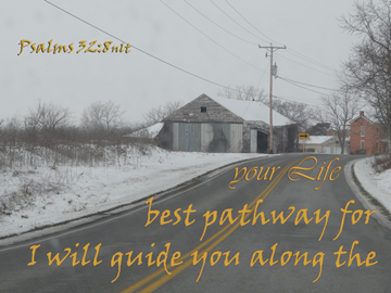 I will guide you along the path that is best for your life. Psa 32:8