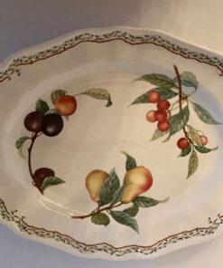 Noritake Casual Gourmet Harvest Platter Fruit