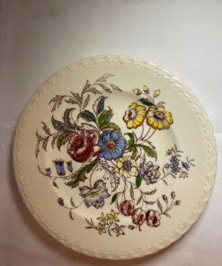 Vernon Kilns Mayflower Vernonware Salad Plate
