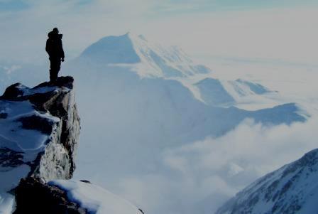 Mt McKinley in Denali National Park