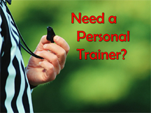 Holy Spirit wants to be your personal trainer.