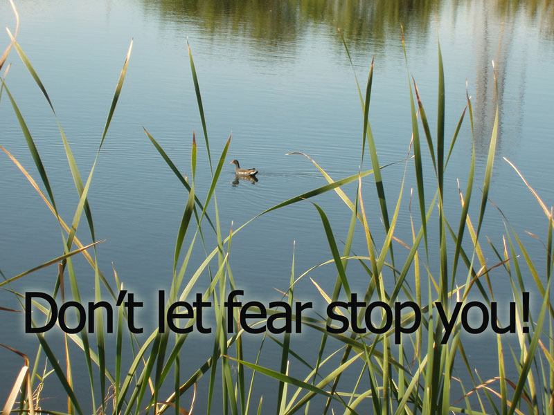 How do you keep from striking out? Do not let the fear of failure stop you from success.