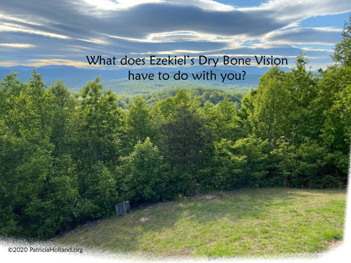 what does Ezekiel's dry bone vision have to do with you?