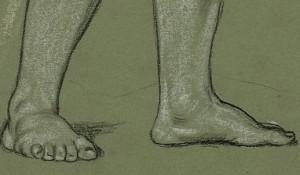 feet that follow Jesus Christ