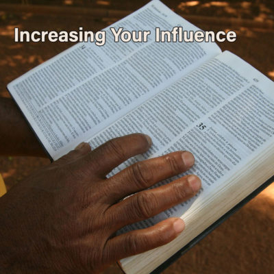 Increasing your influence begins with increasing you.
