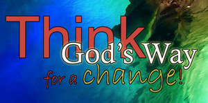 think God's way for a change