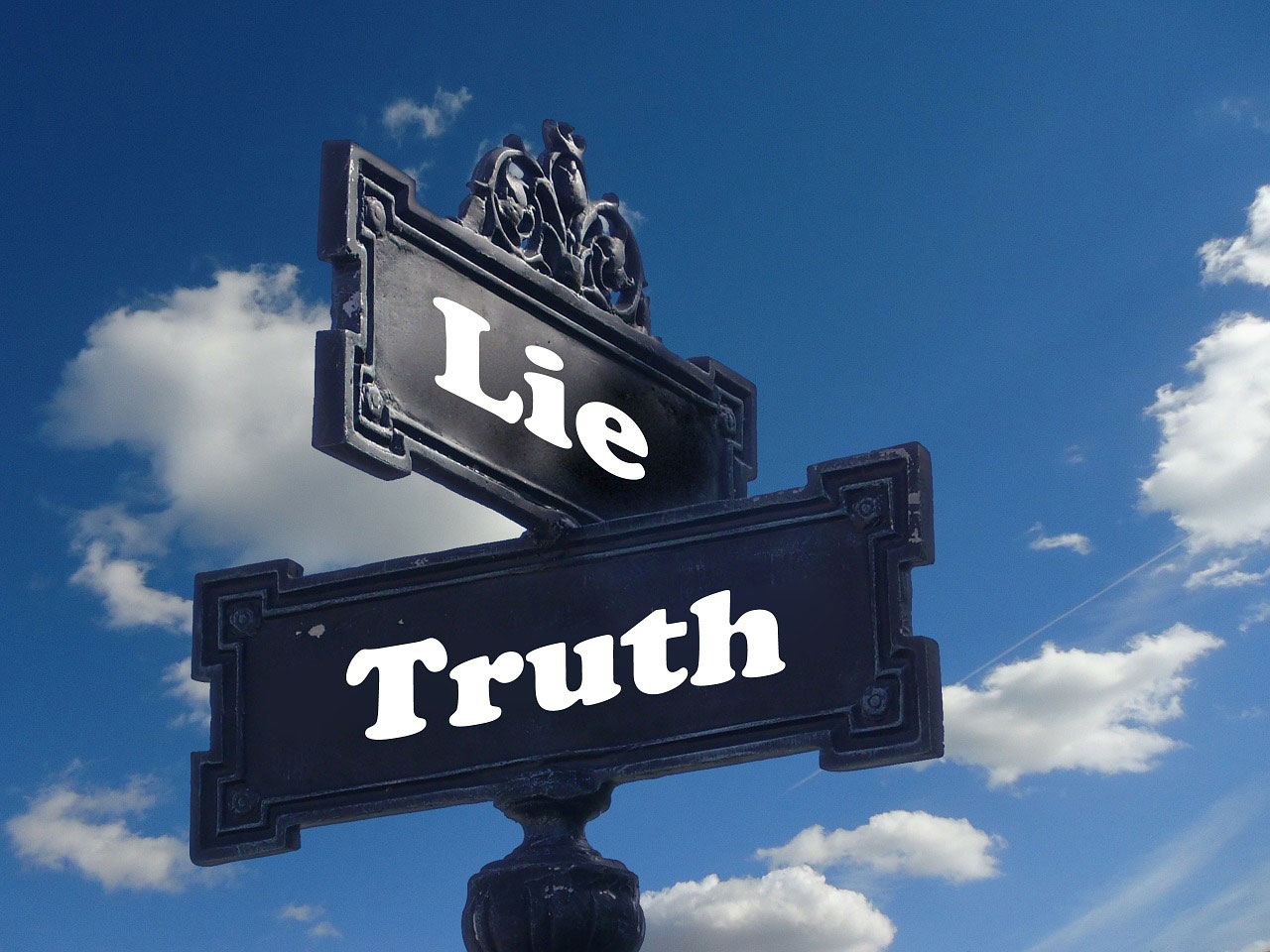 There once was a woman who swallowed a lie.