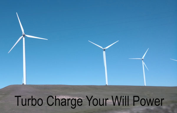 will power turbo charge your will power