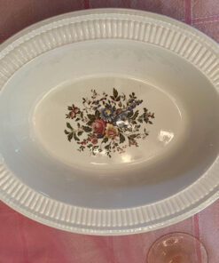 Wedgwood Conway Edme Oval Bowl Used